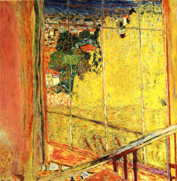 The workshop with Mimosa, 1935 - Pierre Bonnard