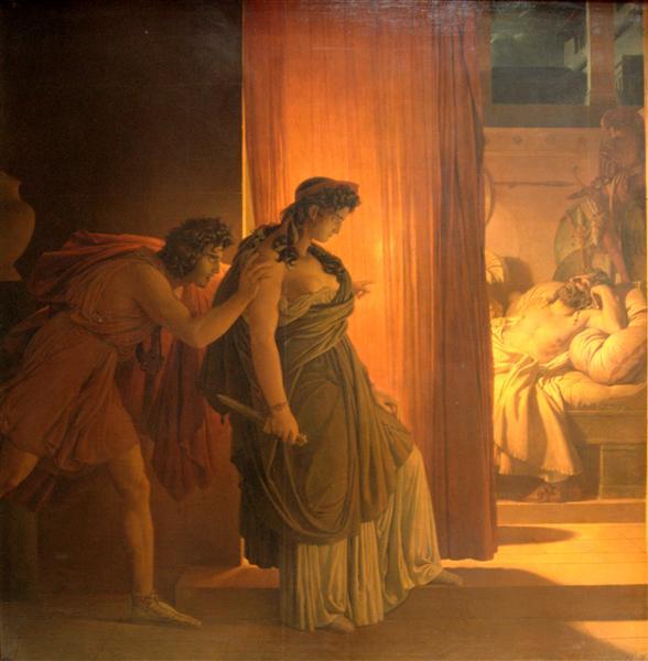 Clytemnestra, c.1817 - Pierre-Narcisse Guerin