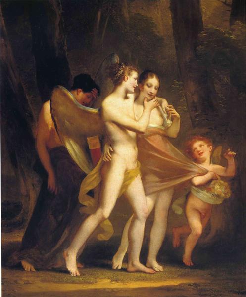 Love Seduces Innocence, Pleasure Entraps, and Remorse Follows, c.1809 - Pierre-Paul Prud'hon
