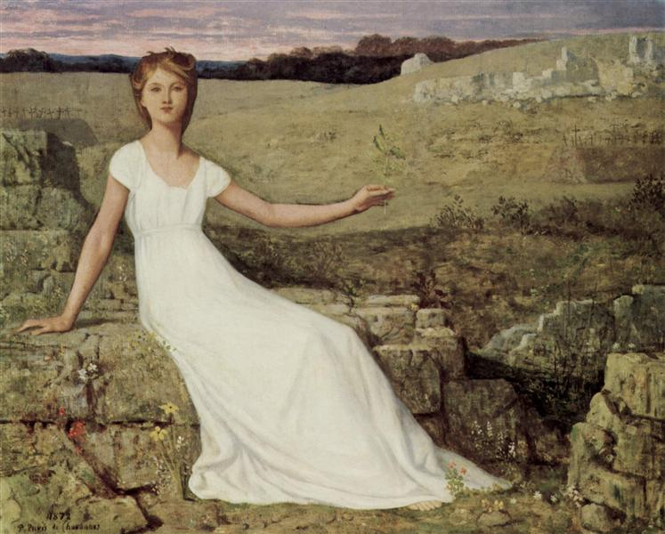 Hope, 1872 - Pierre Puvis de Chavannes
