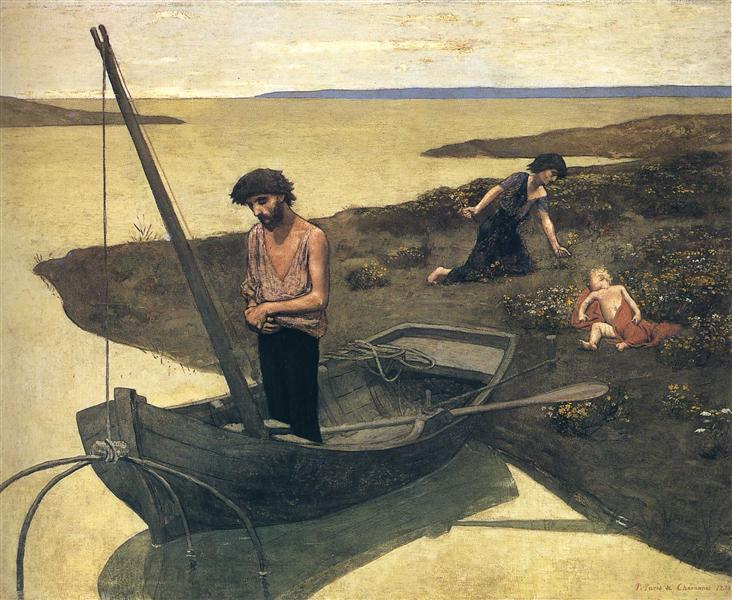 The Poor Fisherman, 1881 - Pierre Puvis de Chavannes