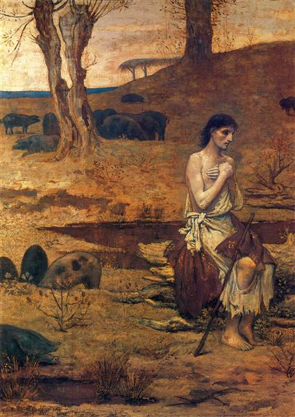 The Prodigal Son 2 - Pierre Puvis de Chavannes