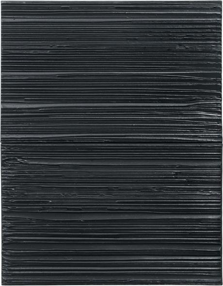 Peinture 103 x 81 cm, 18 Mars 2004, 2004 - Pierre Soulages