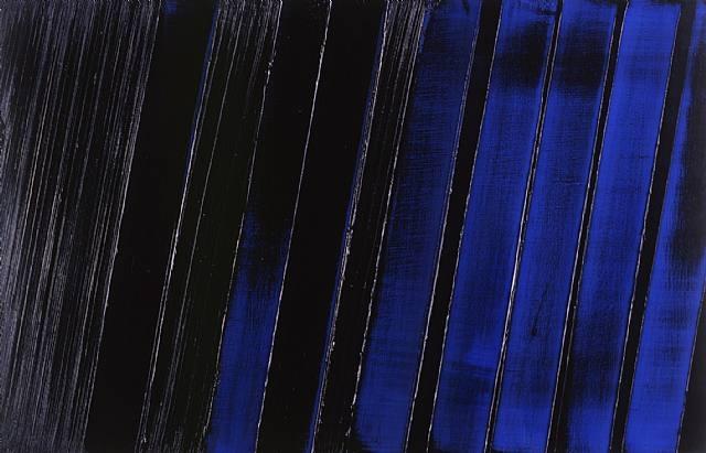 Peinture 11 Juillet 1987 - Pierre Soulages