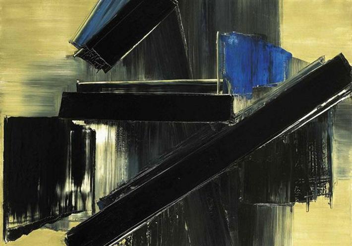 Peinture 21 Juillet 1958, 1958 - Pierre Soulages
