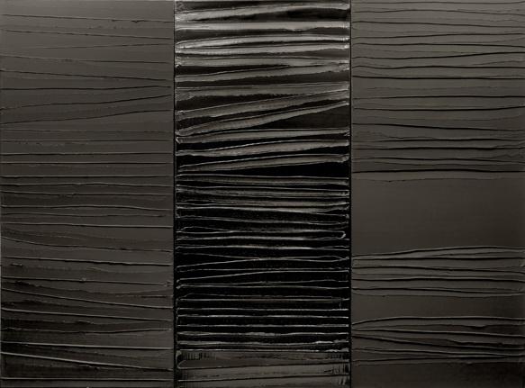 Peinture 227 x 306 cm, 2 Mars 2009, 2009 - Pierre Soulages