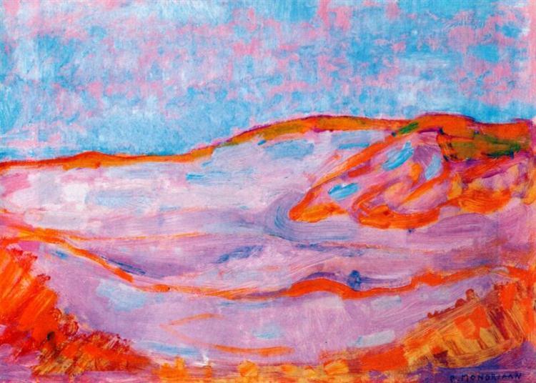 Dune IV, 1909 - 1910 - Piet Mondrian