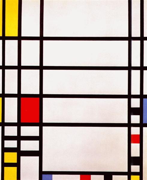 Trafalgar Square, 1939 - 1943 - Piet Mondrian