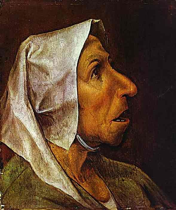 Portrait of an Old Woman, 1563