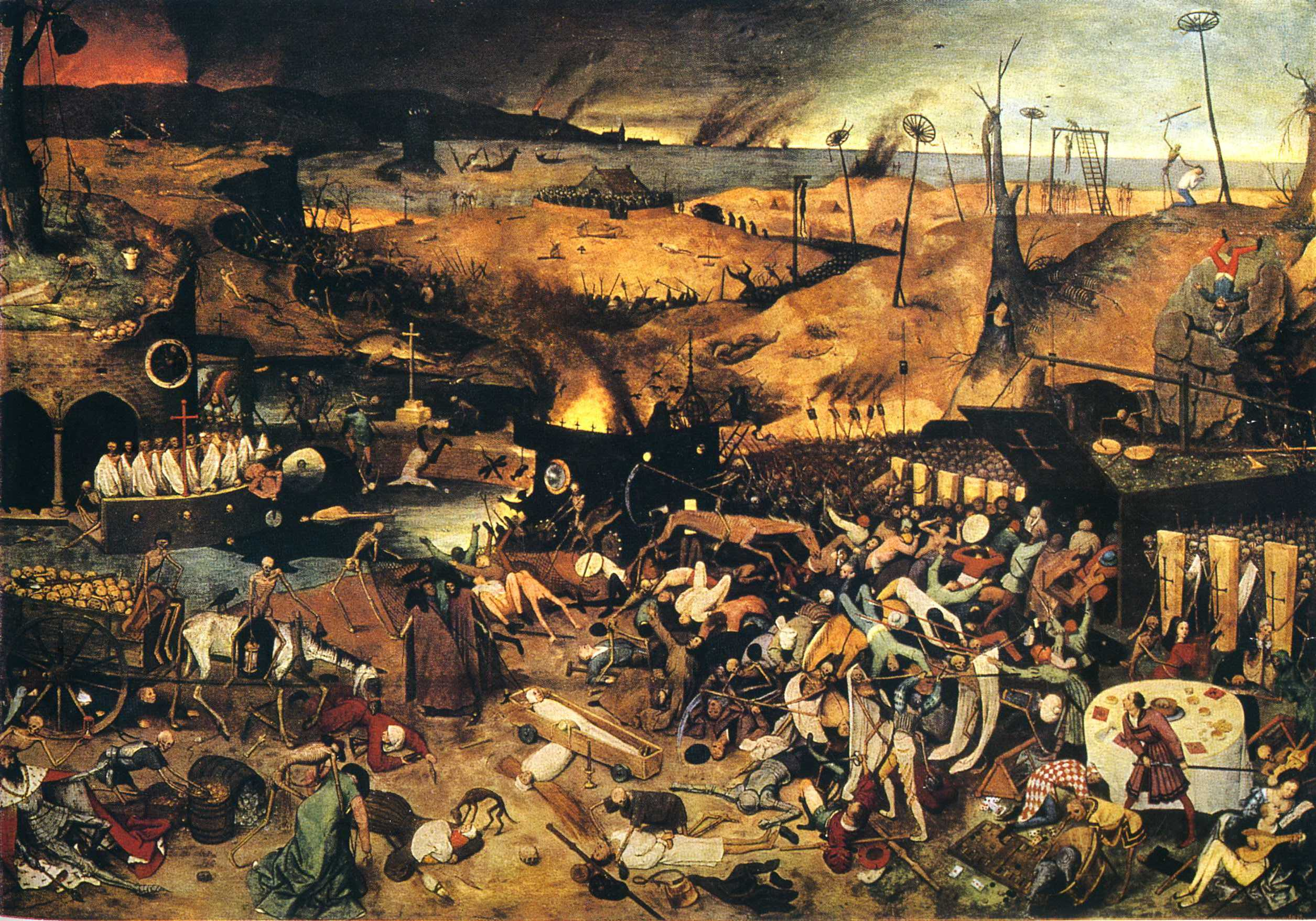 the triumph of death pieter bruegel the