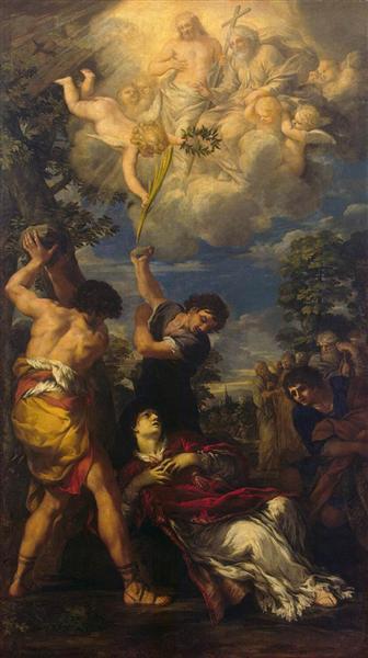 The Martyrdom of Saint Stephen, 1660 - Pietro da Cortona