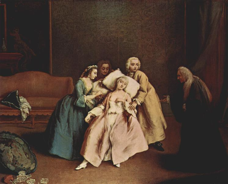 The Wet-Nurse - Pietro Longhi