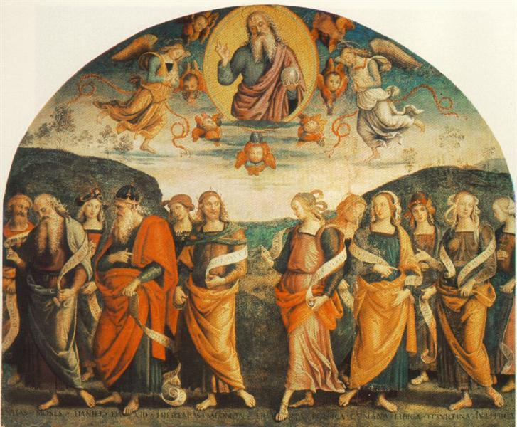 The Almighty with Prophets and Sybils, 1500 - Pietro Perugino