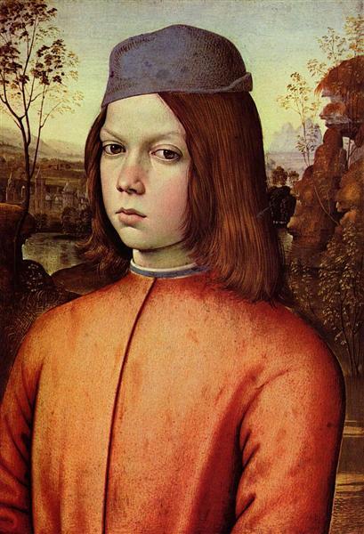 Portrait of a Boy, 1500 - Pinturicchio