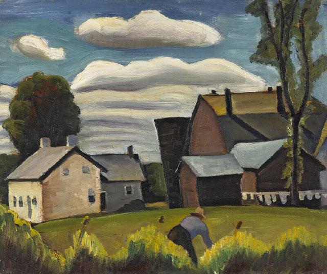 Farm, 1933 - Prudence Heward