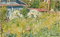 Jasmine bush - Pjotr Petrowitsch Kontschalowski