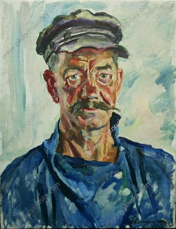Portrait of worker Yakobchenko, 1938
