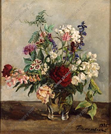 Still Life. The Dutch bouquet., 1935