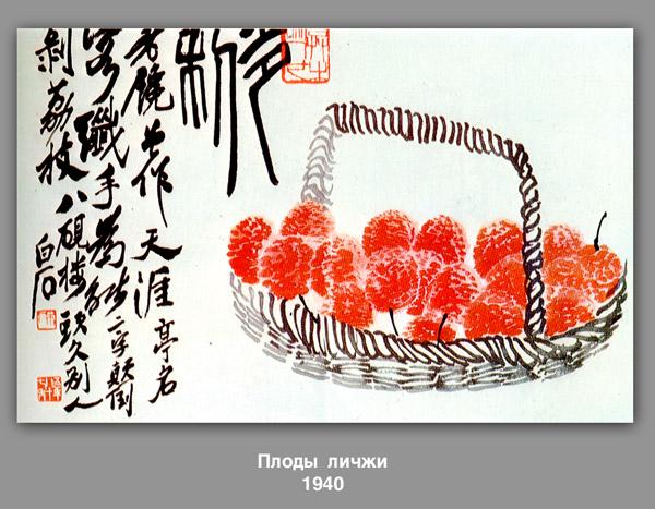 Lychee fruit - Qi Baishi