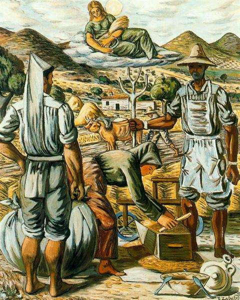 Reapers in the age and Ceres - Rafael Zabaleta