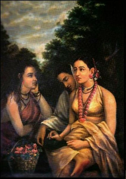Shakuntala - Raja Ravi Varma