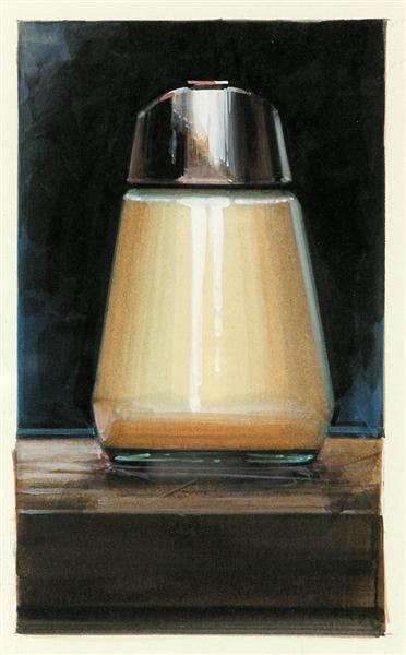 Sugar Dispenser (Front View), 1989 - Ralph Goings