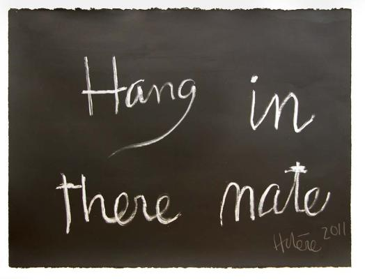 Hang in there Mate, 2011 - Ralph Hotere