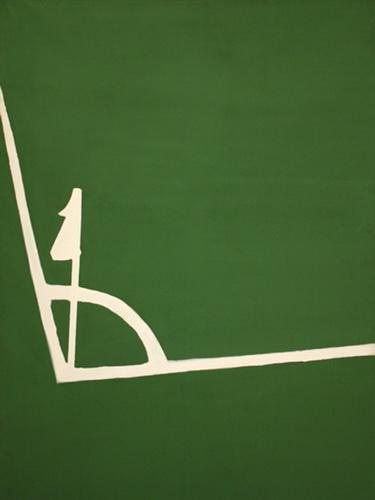 Kalklijnen hoek - Raoul De Keyser