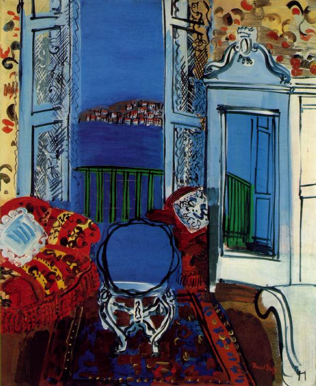 Open window 1928 raoul dufy for Matisse fenetre
