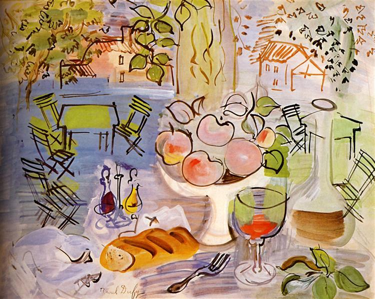 Still life, 1928 - Raoul Dufy
