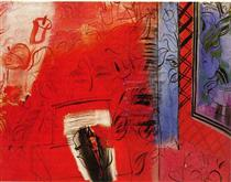 Still life with violin: Hommage to Bach - Raoul Dufy