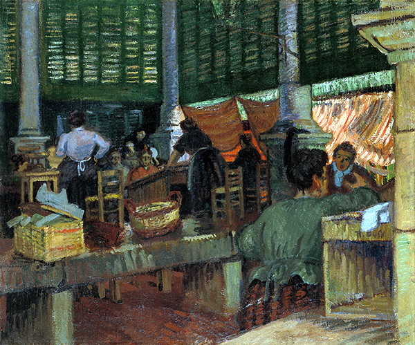 The Fish Market, Marseille, c.1904 - Raoul Dufy