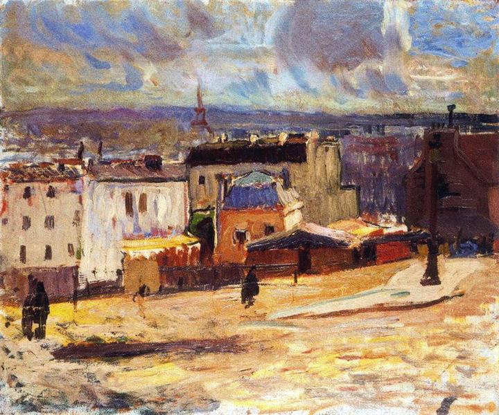 View of Paris from Monmartre - Raoul Dufy