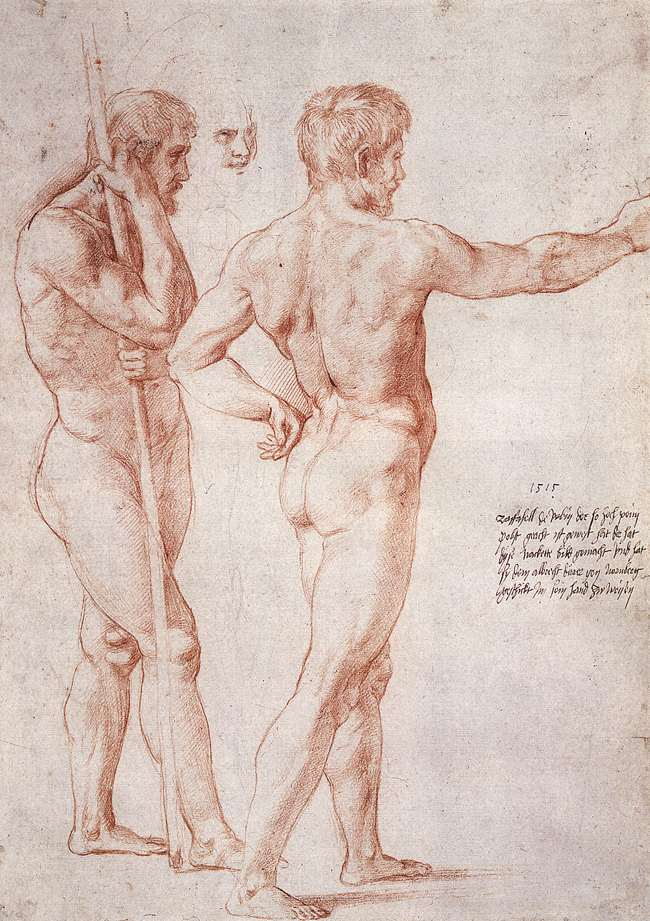 Naked Study 34