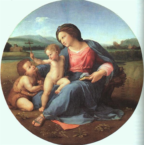 The Alba Madonna, 1510 - Rafael