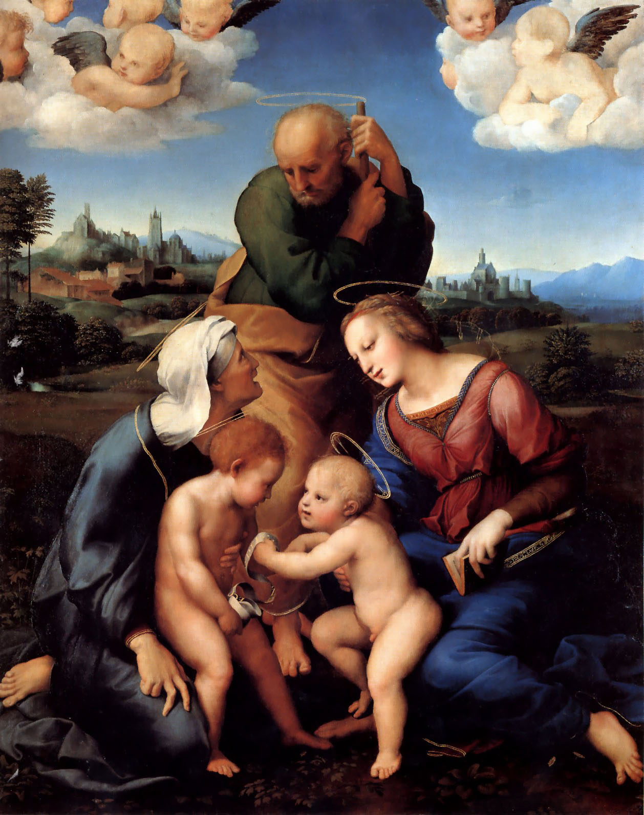 The Holy Family with Saints Elizabeth and John, 1506