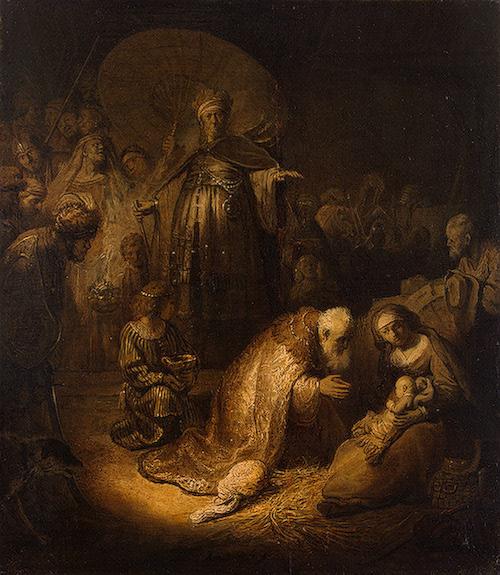 Adoration of the magi, 1632 - Rembrandt