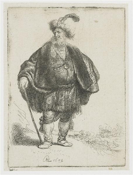 The Persian, 1632 - Rembrandt