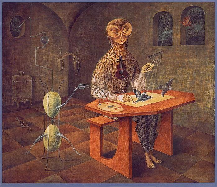 Creation of the Birds - Remedios Varo