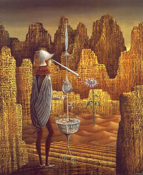 Creation with astral rays, 1955 - Remedios Varo