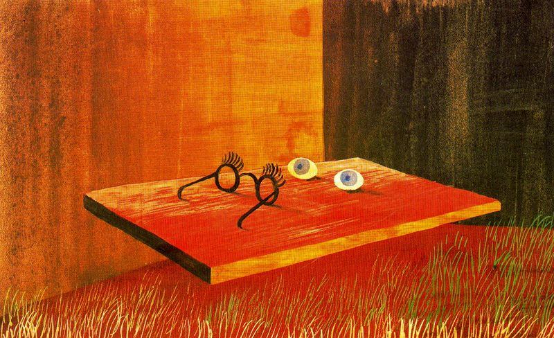 Eyes on the table, 1938 - Remedios Varo - WikiArt.org