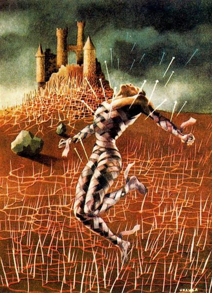 Rheumatic pain, 1948 - Remedios Varo