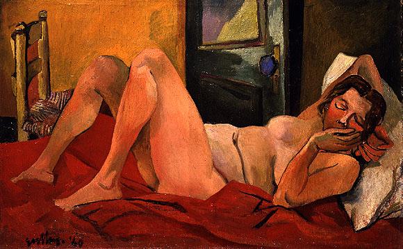 Nudo sdraiato, 1940 - Renato Guttuso