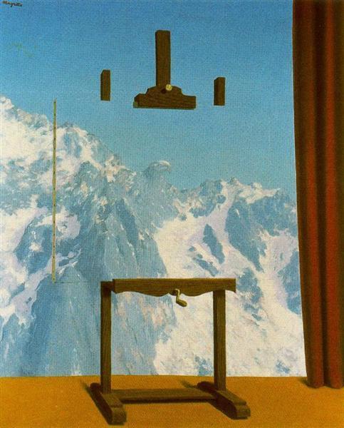 Call of peaks, 1943 - René Magritte