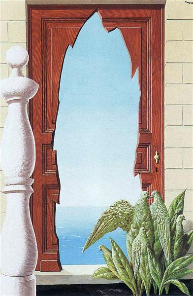 Early Morning 1942 Rene Magritte Wikiart Org