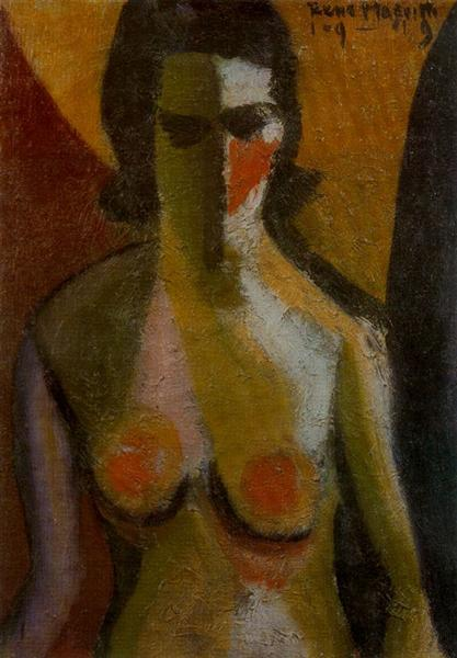 Nude, 1919 - Rene Magritte