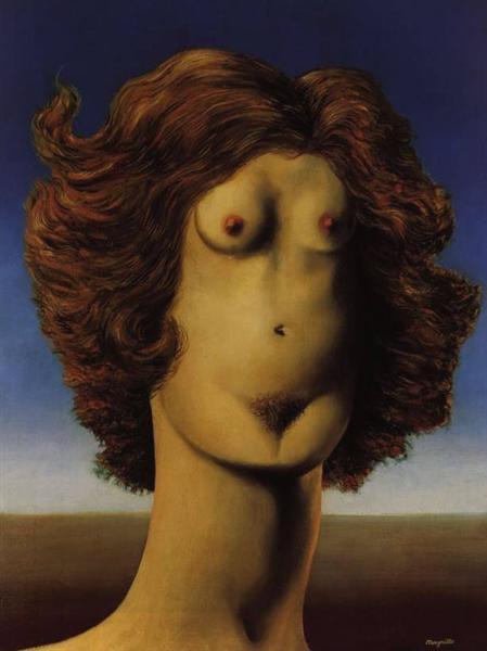 Rape, 1934 - Rene Magritte