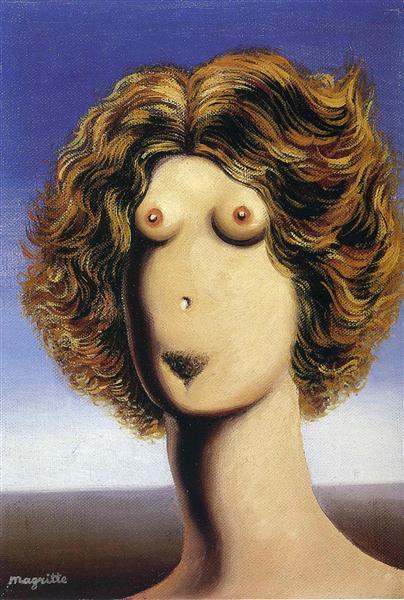 Rape, 1935 - Rene Magritte