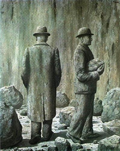 Song of violet, 1951 - Rene Magritte