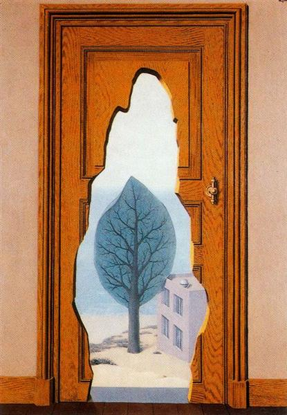 The amorous perpective, 1935 - René Magritte